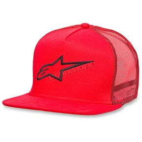 Alpinestars Red Corp Trucker Hat - 102581003030