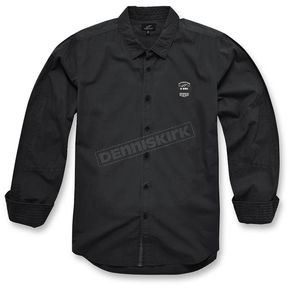 Alpinestars Black Campo Long Sleeve Shirt - 10353100110XL