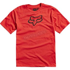 Fox Youth Scarlet Legacy T-Shirt - 15594-371-YS