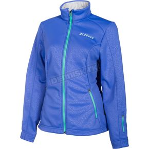 Klim Women's Blue Whistler Jacket - 4023-002-140-200