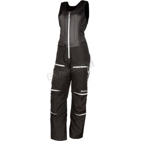 Klim Women's Black Allure Bibs - 3376-005-150-000