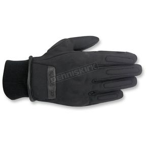 Alpinestars Black C-1 Windstopper Gloves - 3520016-10-S