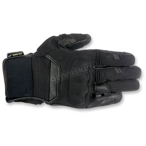 Alpinestars Black Polar Goretex Gloves - 3525116-10-S