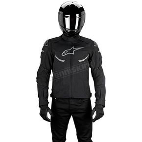 Alpinestars Black Enforce Drystar Jacket - 3208016-10-L