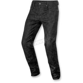 Alpinestars Black Denim Copper Denim Pants - 3328516-10-36