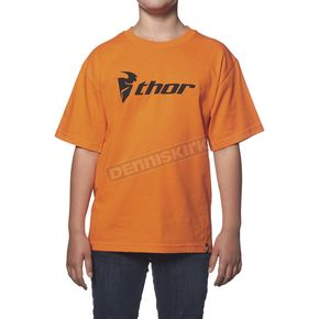 Thor Youth Orange Loud N Proud T-Shirt - 3032-2190