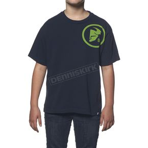 Thor Youth Navy Gasket T-Shirt - 3032-2222