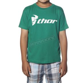Thor Toddler Kelly Green Loud N Proud T-Shirt - 3032-2273