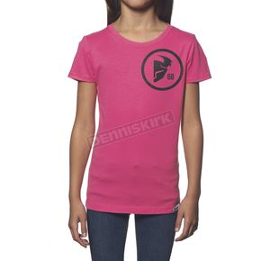 Thor Girls Pink Gasket T-Shirt - 3032-2309