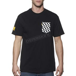 Thor Black Chex Pocket T-Shirt - 3030-12542