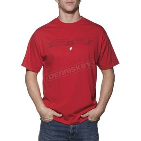Thor Red Pure Moto T-Shirt - 3030-12777