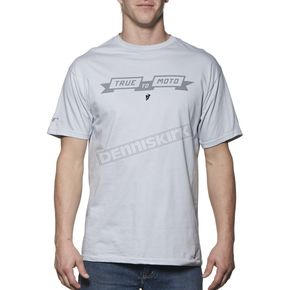 Thor Silver Pure Moto T-Shirt - 3030-12786