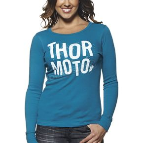 Thor Womens Teal Crush Thermal - 3031-2533