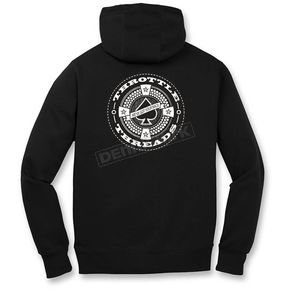 Throttle Threads Ace Hoody - TT626F79BKMR