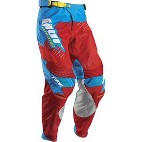 Thor Red/Cyan Core Hux Pants - 2901-5688