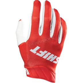 Shift Red Raid Gloves - 14611-003-S