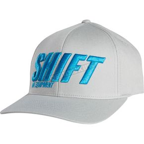 Shift Grey Sight Line FlexFit Hat - 15745-006-S/M