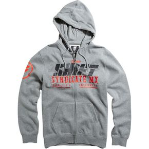 Shift Heather Graphite Stockade Zip Hoody - 15729-185-M
