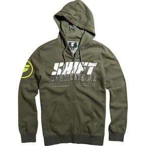 Shift Army Stockade Zip Hoody - 15729-532-S