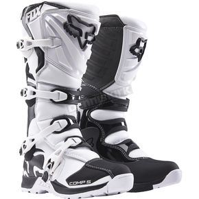 Fox White Comp 5 Boots - 16448-008-13