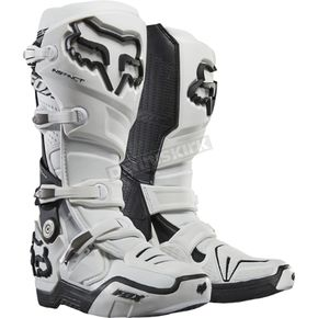 Fox White Instinct Boots - 12252-008-14