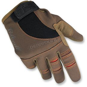 Biltwell Brown/Orange Moto Gloves - GL-XXL-BR-OR