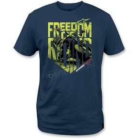 Alpinestars Blue Freedom Photo T-Shirt - 1M3572050702X