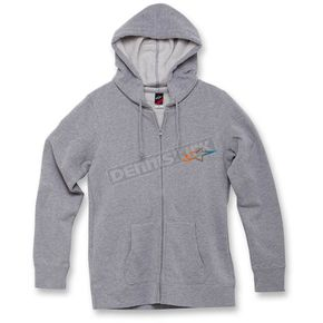 Alpinestars Women's Heather Gray Ageless Gradient Zip Hoody - 1W3552069198S