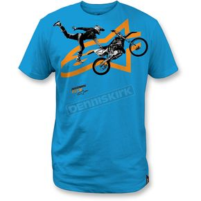 Alpinestars  Turquoise Moto Photo T-Shirt - 1M357205376XL