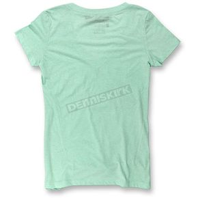 Pro Circuit Women's Mint Green PCR V-Neck T-Shirt - 6414105-020