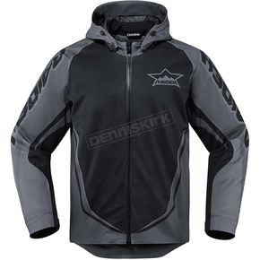 Icon - Raiden Black/Gray UX Jacket - 2820-3560