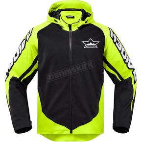 Icon - Raiden Hi-Viz/Black UX Jacket - 2820-3574