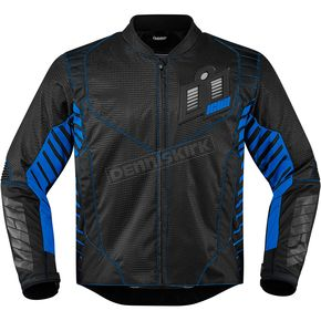 Icon Black/Blue Wireform Jacket - 2820-3588