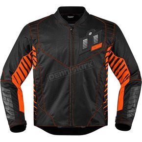 Icon Black/Orange Wireform Jacket - 2820-3599