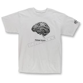 FMF White Think Faster T-Shirt - F351S18124WHT2X