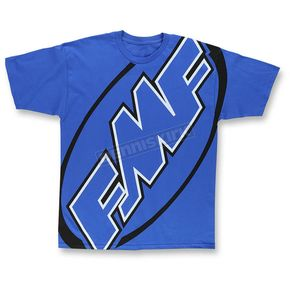FMF Blue First Gear T-Shirt - F351S18120BLUL