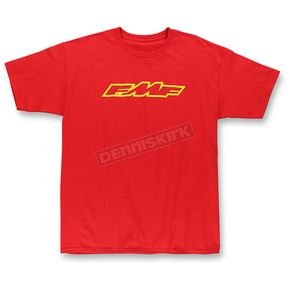 FMF Red Engine ReadyT-Shirt - F351S18109REDM