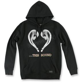 FMF Black Love This Sound Hoody - F351S22101BLKXL
