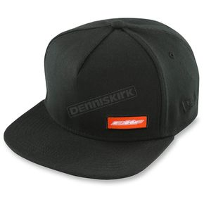 FMF Black The Rep Flexfit Hat - F35196104BLKSM