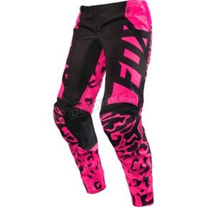 Fox Women's Black/Pink 180 Pants - 14981-285-6