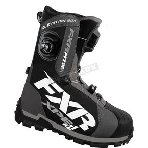 FXR Racing Charcoal/Black Elevation Lite Boa Focus Boots - 16501.20114