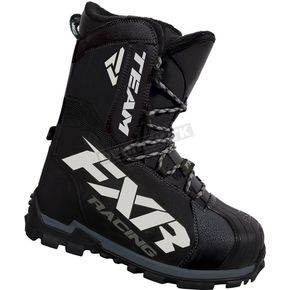 FXR Racing Black Team Core Boots - 16506.10009
