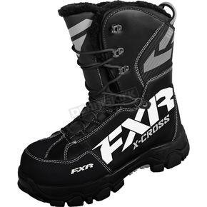 FXR Racing Black X Cross Boots - 16508.10011