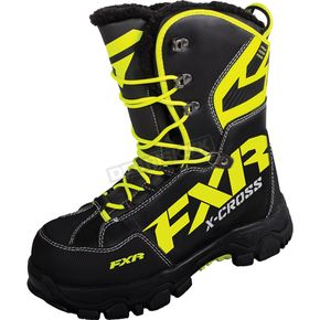 FXR Racing Black/Hi-Vis X Cross Boots - 16508.70109