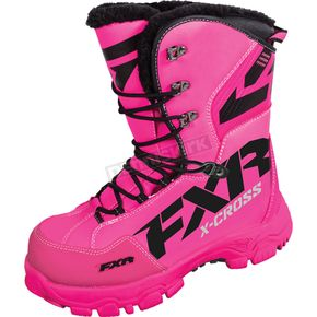 FXR Racing Womens Fuchsia X Cross Boots - 16508.90007