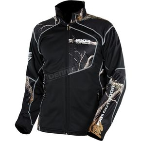 FXR Racing Black/Realtree AP Black Elevation Fleece Zip-Up - 15815.33107