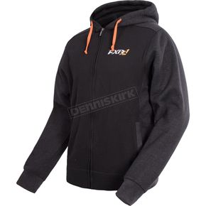 FXR Racing Black/Charcoal Pace Hoodie - 16040.20116