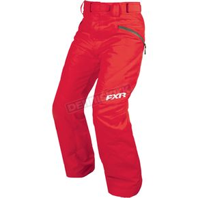 FXR Racing Women's Electric Tangerine Fresh Pant - 15260.30010