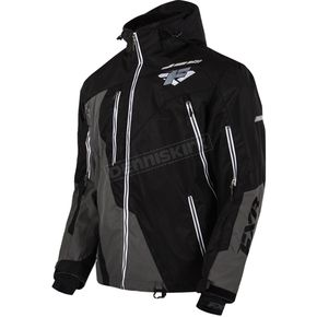 FXR Racing Black/Charcoal Mission Lite Jacket - 15102.20119