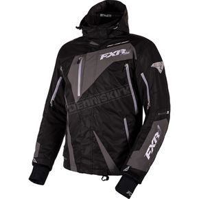 FXR Racing Black/Charcoal Mission X Jacket - 16005.10207